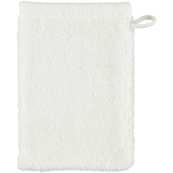 Cawö - Life Style Uni 7007 - Farbe: weiß - 600 Waschhandschuh 16x22 cm