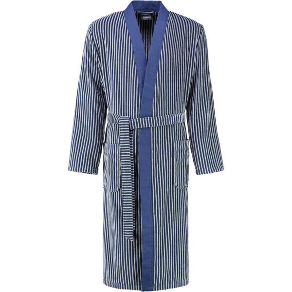 Cawö - Herren Bademantel Kimono 2843 - Farbe: blau - 17 M