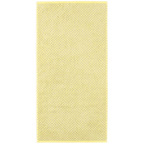 Cawö Reed Allover 956 - Farbe: lemon - 57 Handtuch 50x100 cm