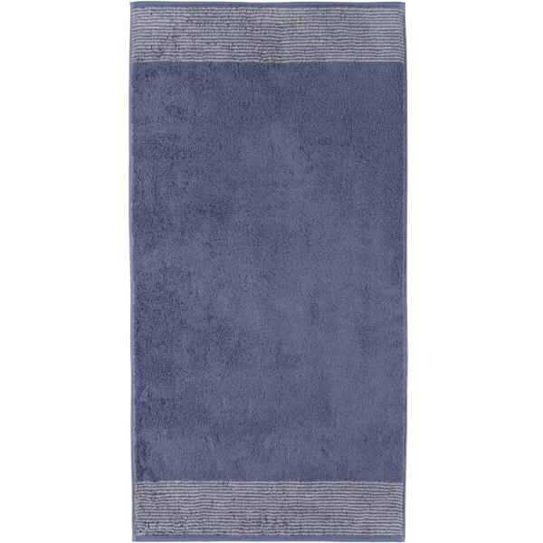 Cawö - Luxury Home Two-Tone 590 - Farbe: nachtblau - 10 Handtuch 50x100 cm