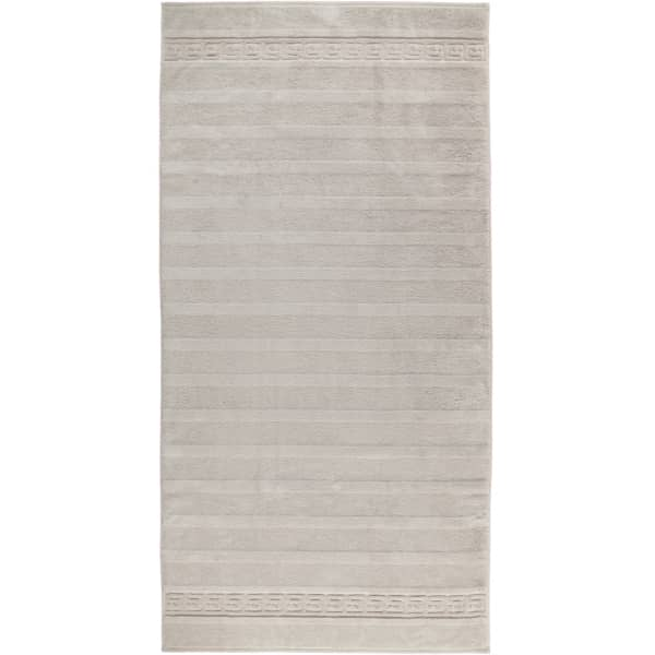 Cawö - Noblesse Uni 1001 - Farbe: 775 - silber Duschtuch 80x160 cm
