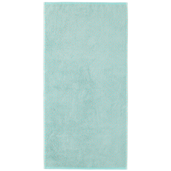 Cawö Reed Allover 956 - Farbe: mint - 47 Handtuch 50x100 cm