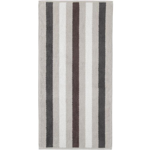 Cawö Heritage Stripes 4011 - Farbe: platin - 77 Handtuch 50x100 cm