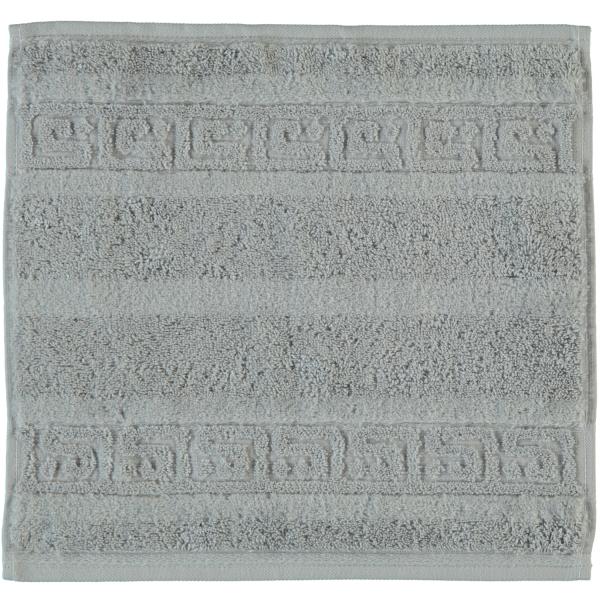 Cawö - Noblesse Uni 1001 - Farbe: platin - 705 Seiflappen 30x30 cm
