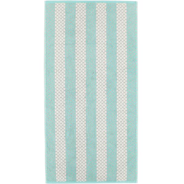 Cawö Reed Streifen 957 - Farbe: mint - 47 Handtuch 50x100 cm