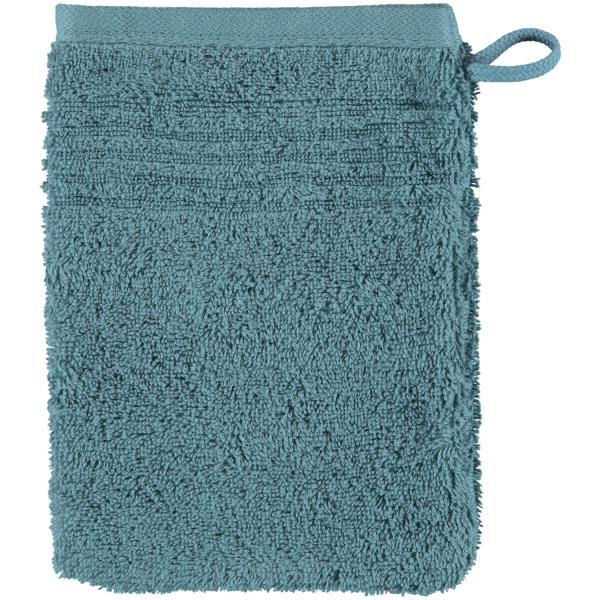 Cawö Essential Uni 9000 - Farbe: petrol - 400 Waschhandschuh 16x22 cm