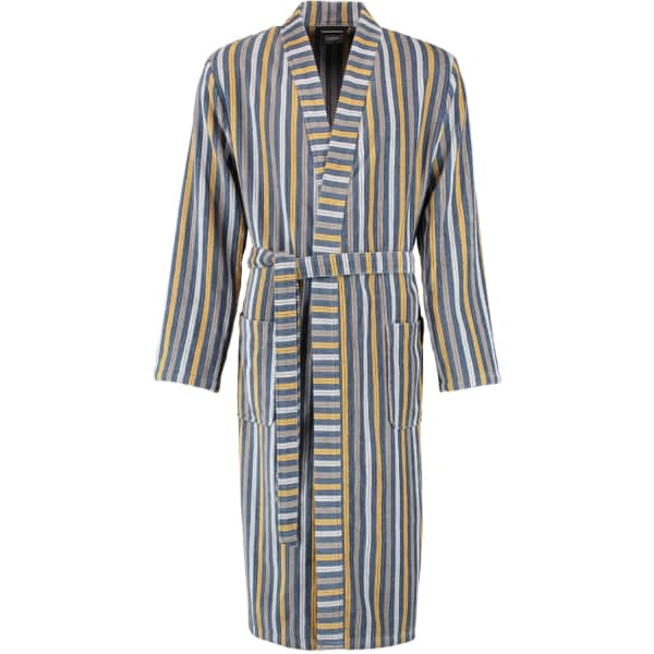 Cawö Herren Bademantel Kimono 3830 - Farbe: scotch - 15 L