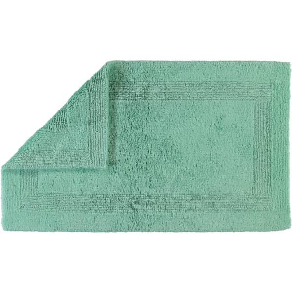 Cawö Home - Badteppich 1000 - Farbe: agavegrün - 474 70x120 cm