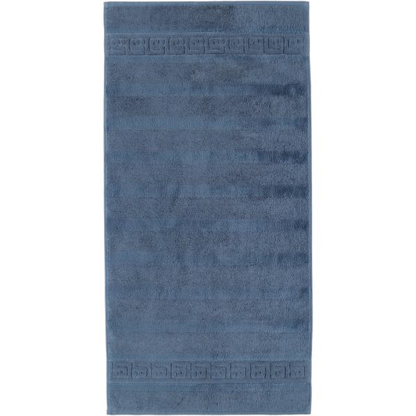 Cawö - Noblesse Uni 1001 - Farbe: nachtblau - 111 Handtuch 50x100 cm