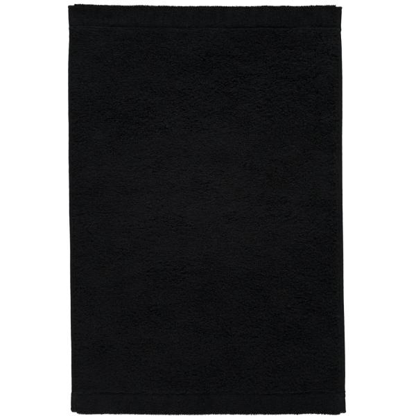 Cawö - Life Style Uni 7007 - Farbe: schwarz - 906 Gästetuch 30x50 cm