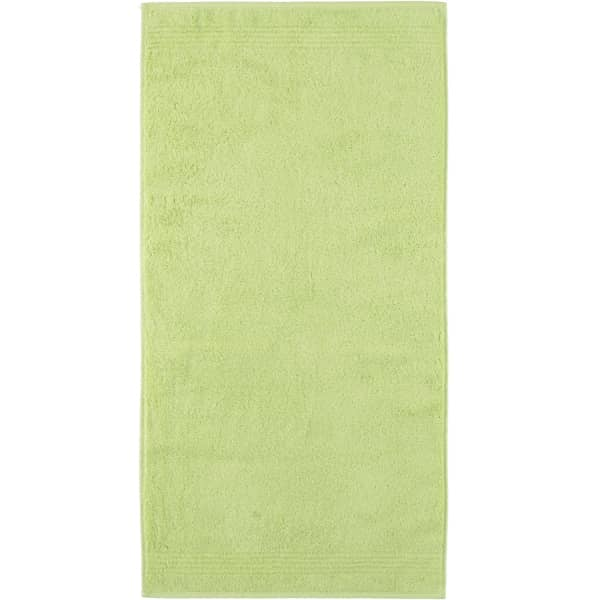 Cawö Essential Uni 9000 - Farbe: pistazie - 412 Handtuch 50x100 cm