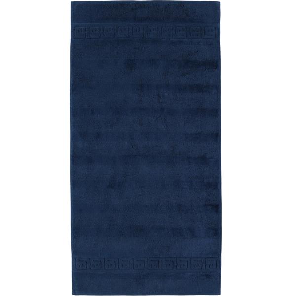 Cawö - Noblesse Uni 1001 - Farbe: 133 - navy Handtuch 60x110 cm