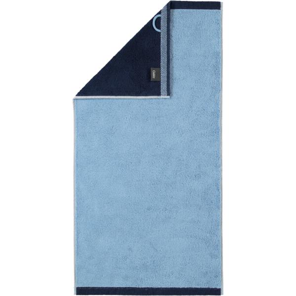 Cawö Plaid Doubleface 7070 - Farbe: sky - 11 Handtuch 50x100 cm