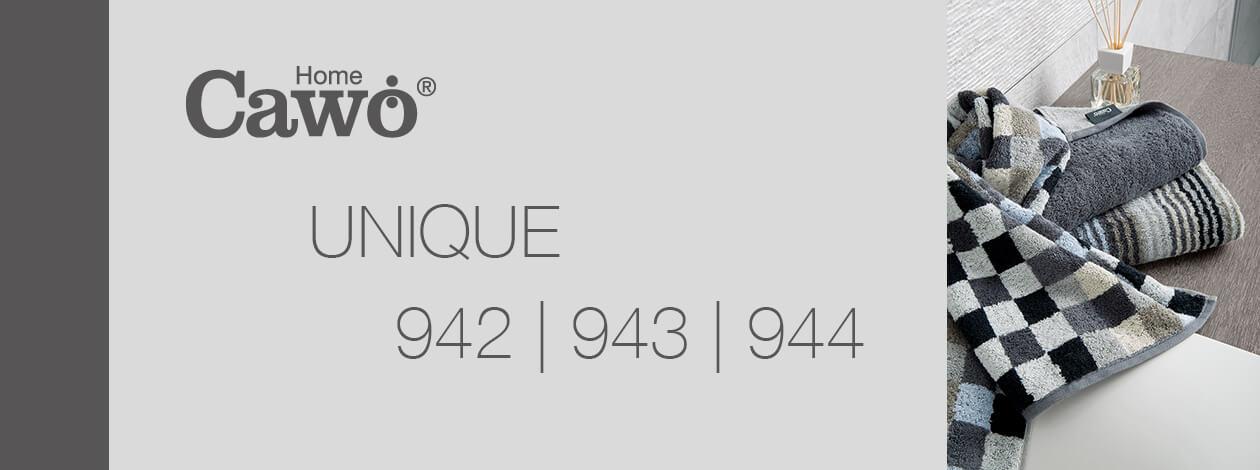 Cawö - Unique Streifen 944 - Farbe: türkis - 44 Duschtuch 70x140 cm Detailbild 2