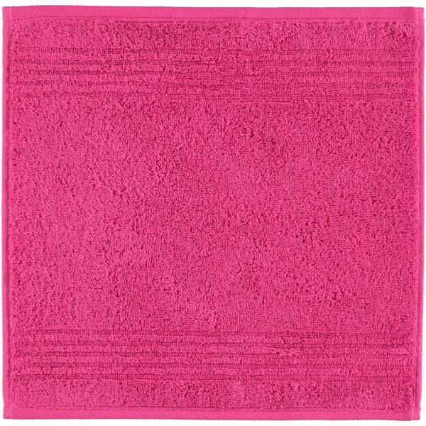 Cawö Essential Uni 9000 - Farbe: pink - 247 Seiflappen 30x30 cm