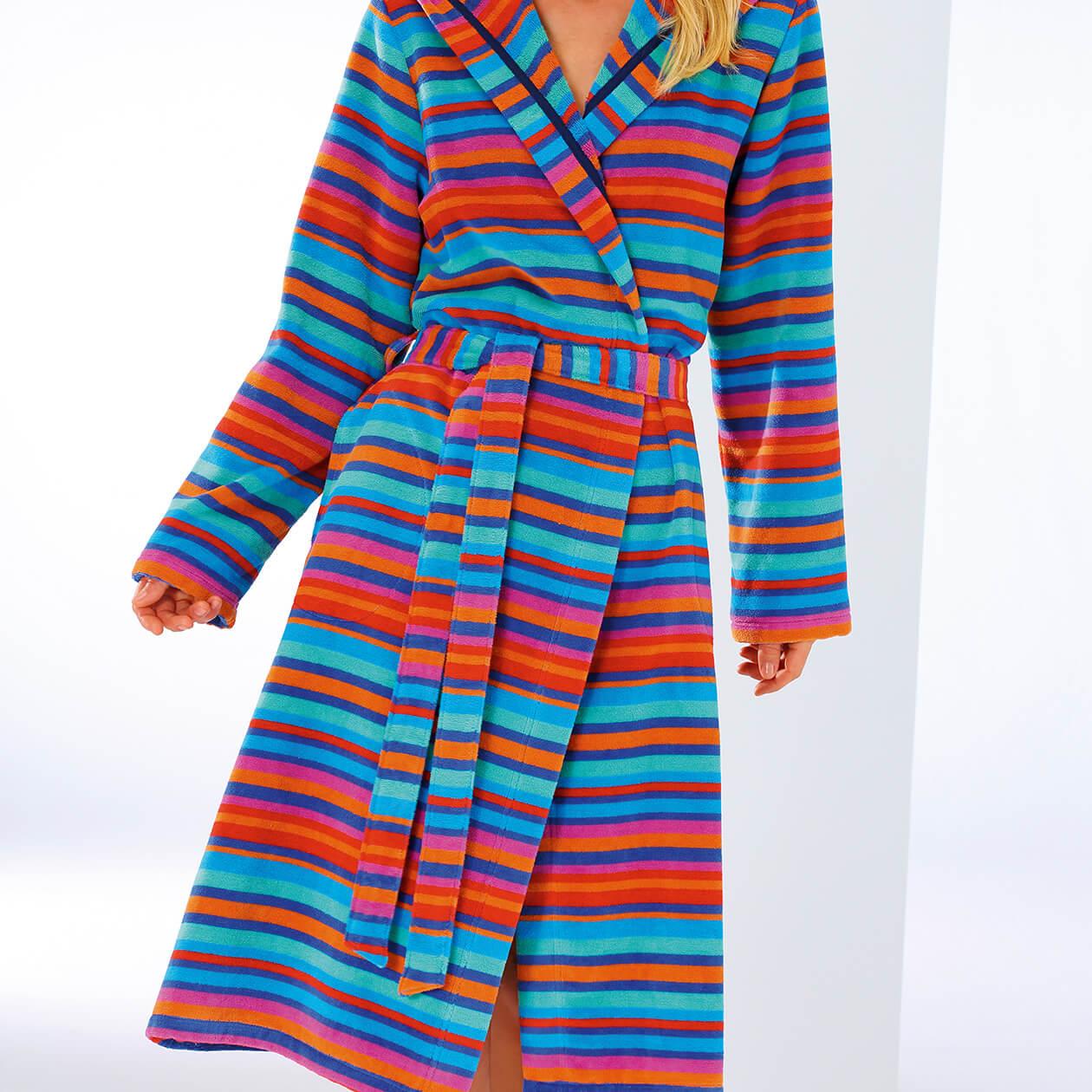 Cawö Damen Bademantel Kimono Art 1228 - Farbe: multicolor - 12 Detailbild 3