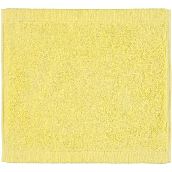 Cawö - Life Style Uni 7007 - Farbe: lemon - 501 Seiflappen 30x30 cm