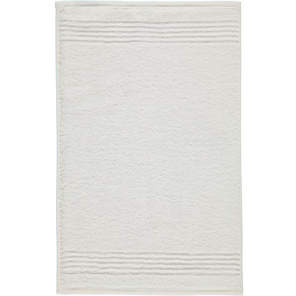 Cawö Essential Uni 9000 - Farbe: weiß - 600 Gästetuch 30x50 cm