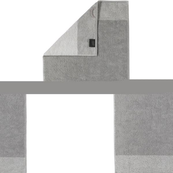 Cawö - Luxury Home Two-Tone 590 - Farbe: platin - 76 Handtuch 50x100 cm