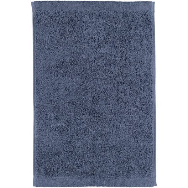 Cawö - Life Style Uni 7007 - Farbe: nachtblau - 111 Gästetuch 30x50 cm