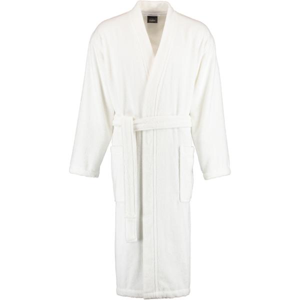 Cawö Home Herren Bademantel Kimono 828 - Farbe: weiß - 67 S