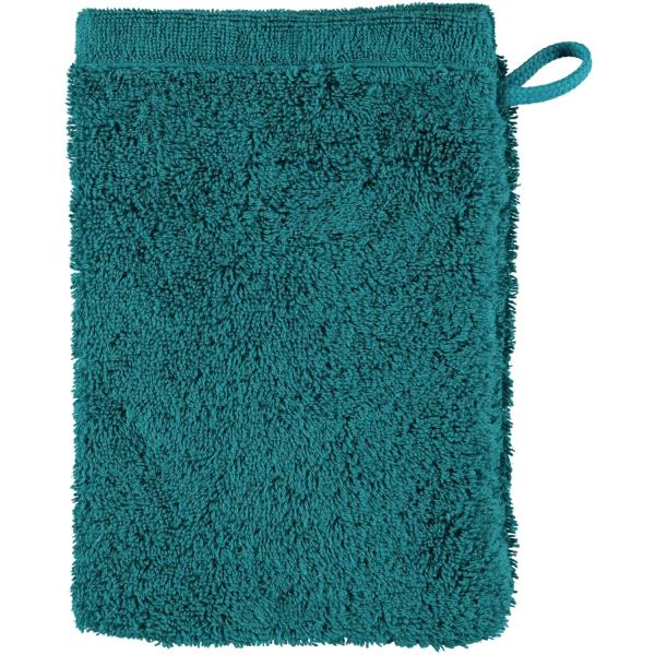 Cawö - Life Style Uni 7007 - Farbe: smaragd - 401 Waschhandschuh 16x22 cm