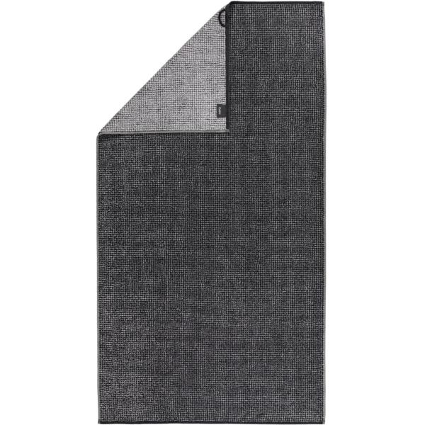 Cawö Zoom Allover 122 - Farbe: schwarz - 97 Duschtuch 70x140 cm