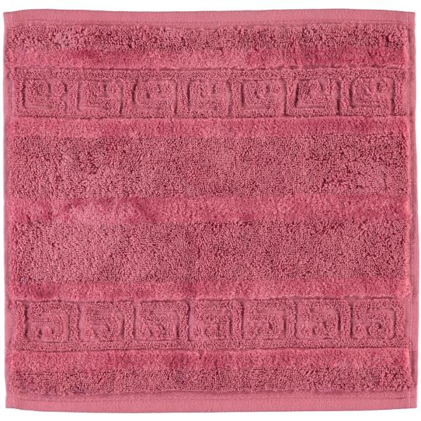 Cawö - Noblesse Uni 1001 - Farbe: 240 - rosa Seiflappen 30x30 cm
