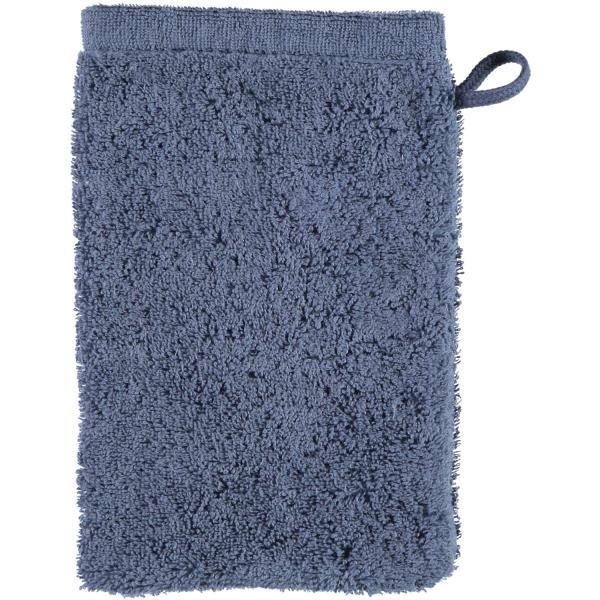 Cawö - Life Style Uni 7007 - Farbe: nachtblau - 111 Waschhandschuh 16x22 cm