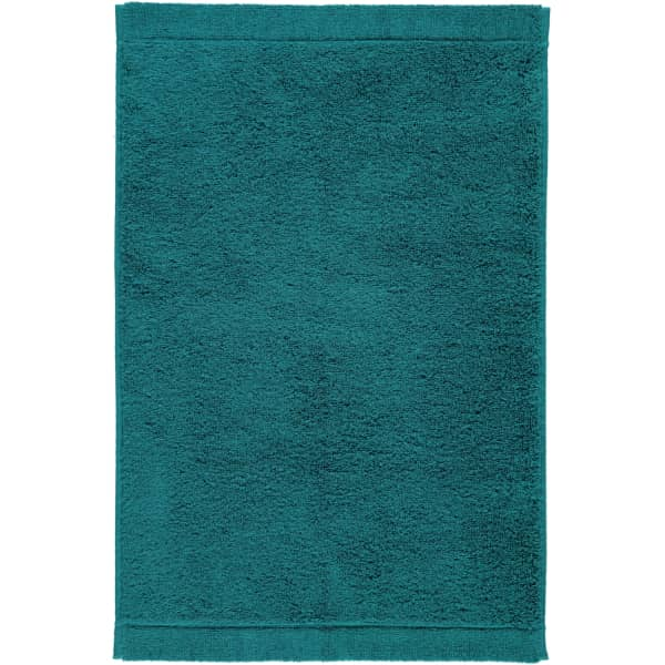 Cawö - Life Style Uni 7007 - Farbe: smaragd - 401 Gästetuch 30x50 cm