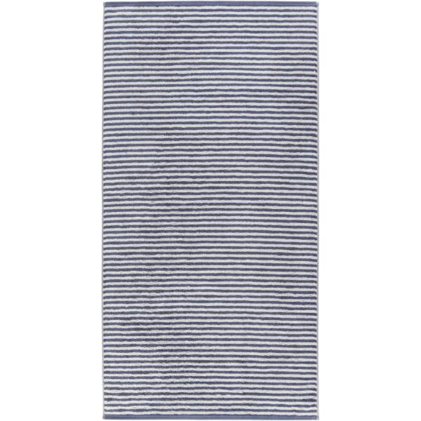 Cawö - Campus Ringel 955 - Farbe: nachtblau - 17 Duschtuch 70x140 cm