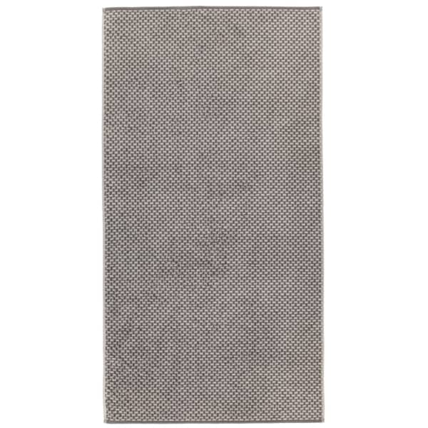 Cawö Reed Allover 956 - Farbe: anthrazit - 77 Duschtuch 70x140 cm