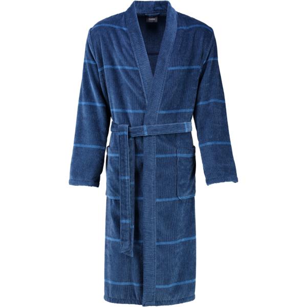 Cawö - Herren Bademantel Kimono 2847 - Farbe: blau - 11