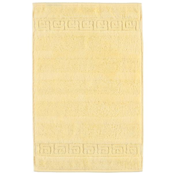 Cawö - Noblesse Uni 1001 - Farbe: honig - 581 Gästetuch 30x50 cm