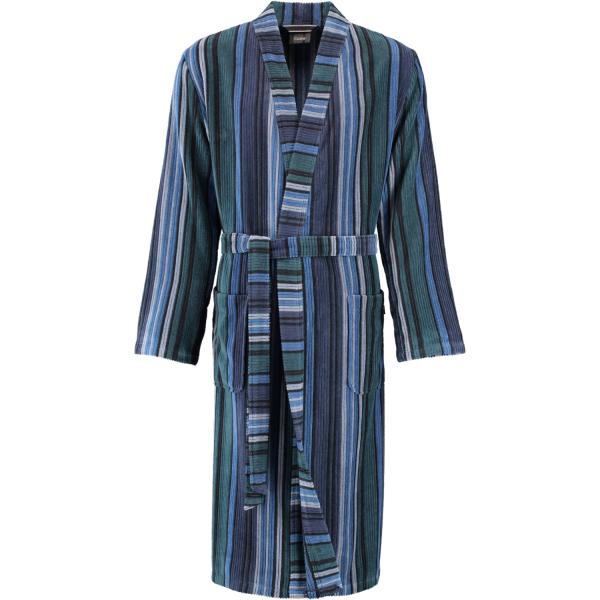 Cawö Herren Bademantel Kimono 2509 - Farbe: aqua - 14