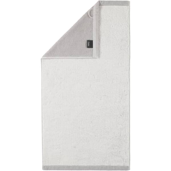 Cawö Plaid Doubleface 7070 - Farbe: weiß - 76 Handtuch 50x100 cm