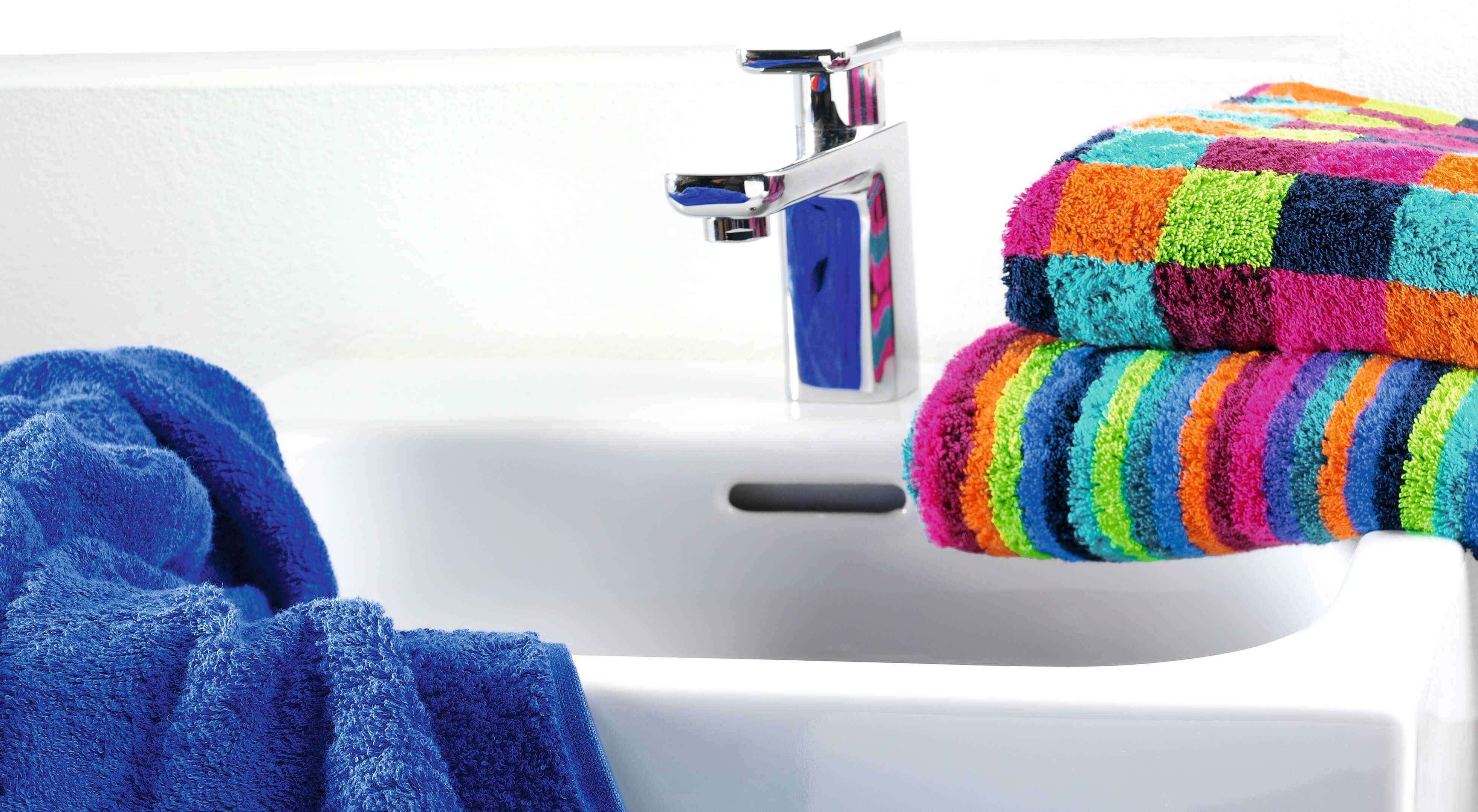 Cawö - Life Style Karo 7047 - Farbe: 84 - multicolor Saunatuch 70x180 cm Detailbild 2