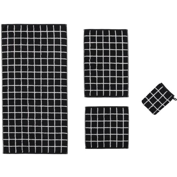 Cawö Zoom Karo 123 - Farbe: schwarz - 97