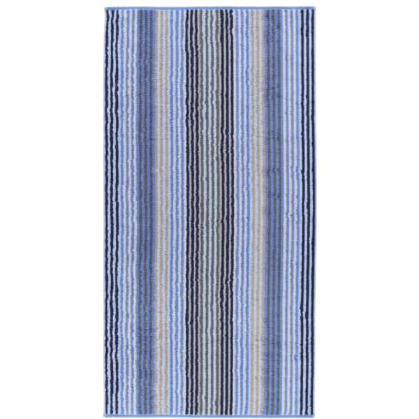 Cawö - Unique Streifen 944 - Farbe: saphir - 11 Duschtuch 70x140 cm