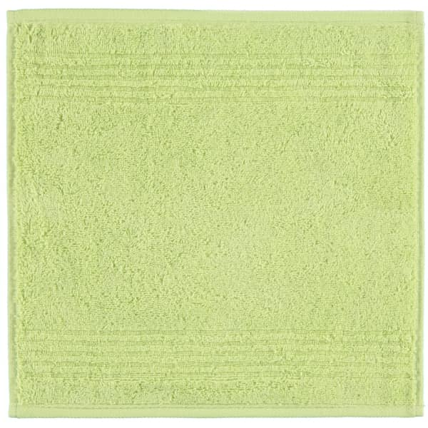 Cawö Essential Uni 9000 - Farbe: pistazie - 412 Seiflappen 30x30 cm