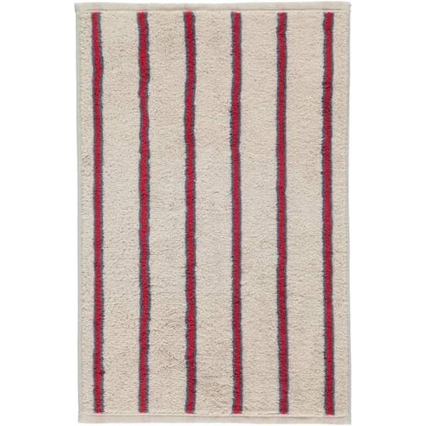 Cawö Polo Streifen 365 - Farbe: travertin - 32 Gästetuch 30x50 cm