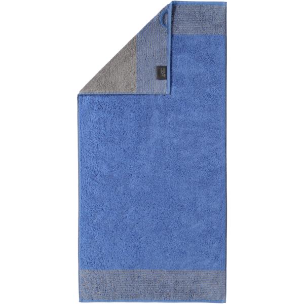 Cawö - Luxury Home Two-Tone 590 - Farbe: blau - 17 Handtuch 50x100 cm
