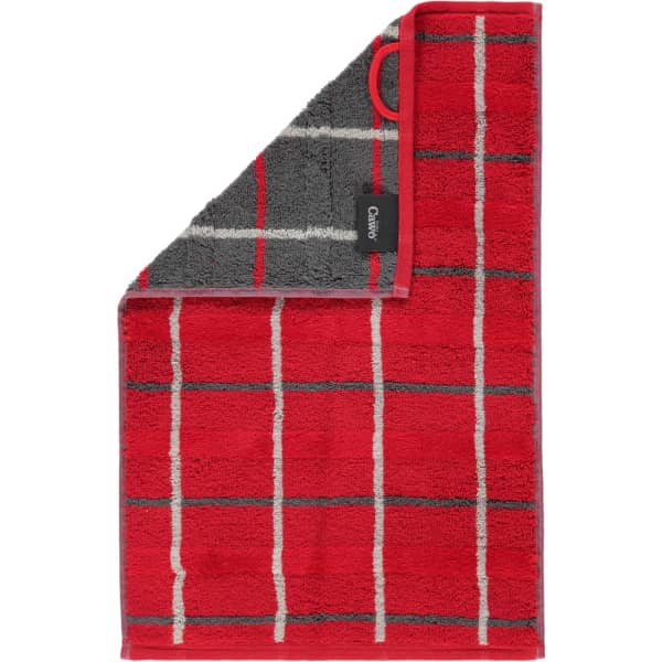 Cawö - Noblesse Square 1079 - Farbe: rot - 27 Gästetuch 30x50 cm