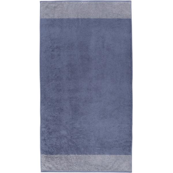 Cawö - Luxury Home Two-Tone 590 - Farbe: nachtblau - 10 Duschtuch 80x150 cm