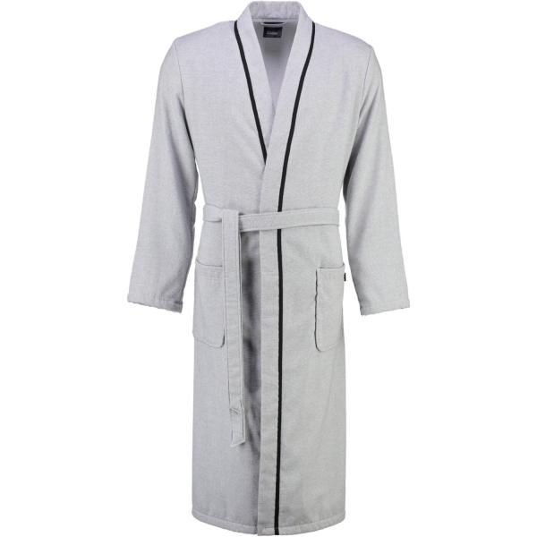 Cawö - Herren Bademantel Denim Kimono 5707 - Farbe: graphit - 76
