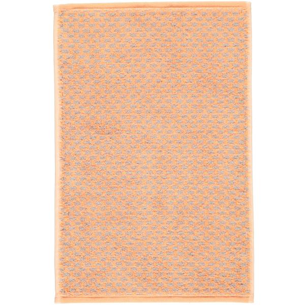 Cawö Reed Allover 956 - Farbe: peach - 37 Gästetuch 30x50 cm
