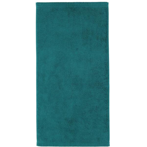 Cawö - Life Style Uni 7007 - Farbe: smaragd - 401 Handtuch 50x100 cm