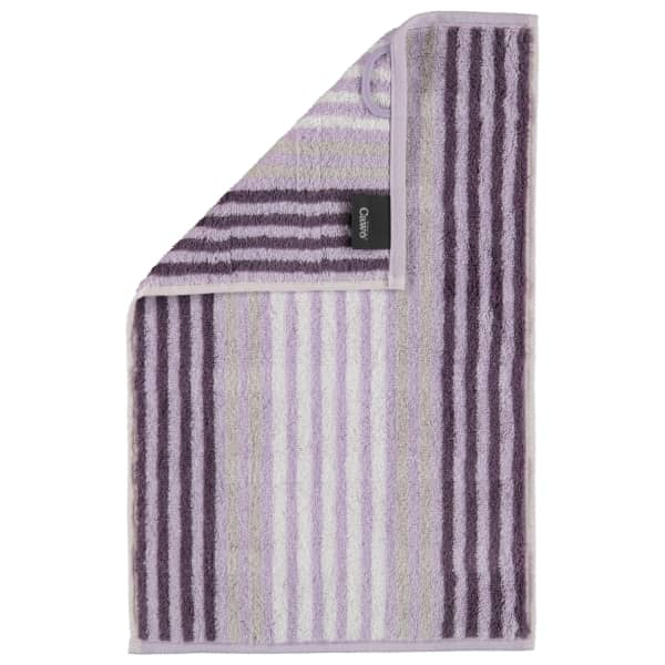 Cawö Noblesse Seasons Streifen 1083 - Farbe: lavendel - 88 Gästetuch 30x50 cm