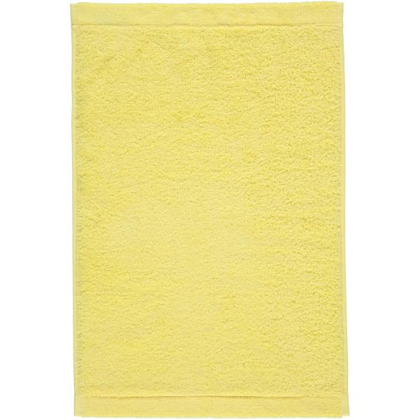 Cawö - Life Style Uni 7007 - Farbe: lemon - 501 Gästetuch 30x50 cm