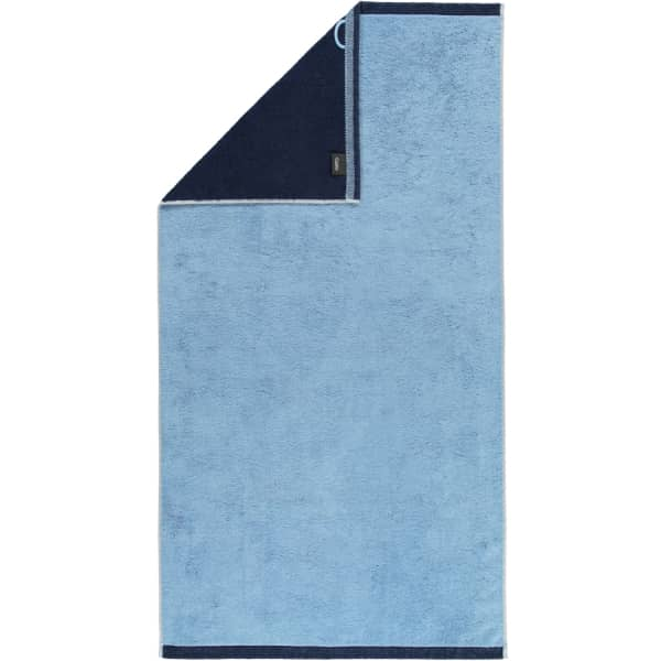 Cawö Plaid Doubleface 7070 - Farbe: sky - 11 Duschtuch 70x140 cm